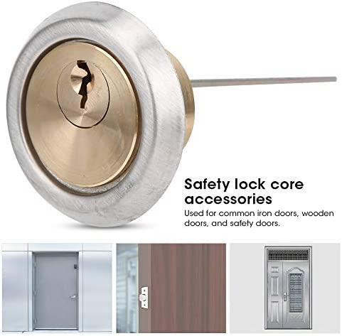 Household Supplies Ultra Silence Good Brightness Room Lock Corrosion Resistance Anti‑Wear Office for Home Anti-Theft Doors Wooden Doors Cerlingwee Lock