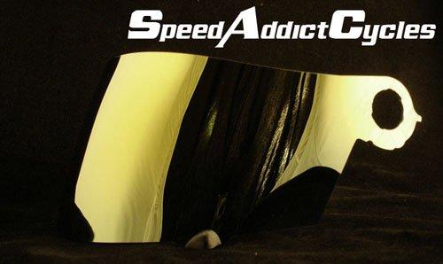 (Suomy Spec-1R / Extreme/Apex/Excel Gold Iridium Shield)