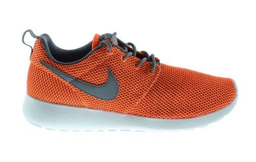 Nike Rosherun (GS) Big Kids Running Sneakers Total Orange/Cool Grey-White 599728-800 (6.5 M US)