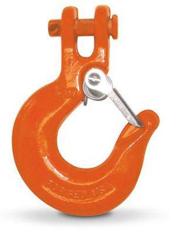 (CM M6906A G63/70 Alloy Clevis Slip Hook Without Latch, Orange)