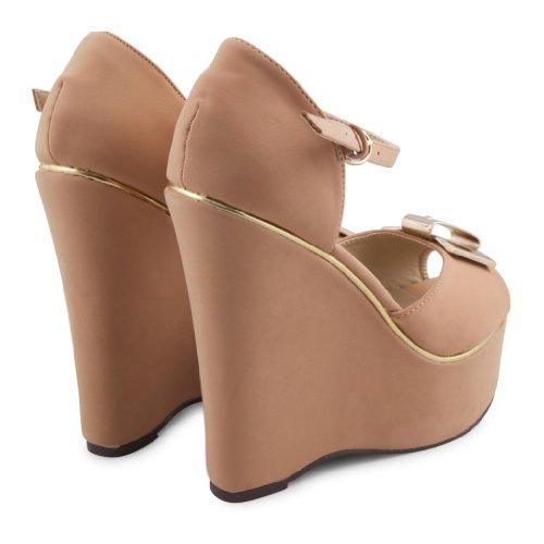 Dolcis - Sandalias de vestir de sintético para mujer Beige - beige