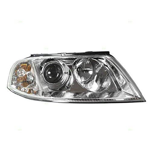 Passengers Halogen Headlight Headlamp Replacement for Volkswagen Passat 3B0 941 016 AQ AutoAndArt ()