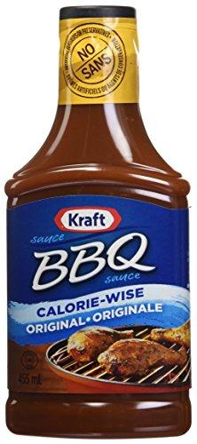 Kraft BBQ Sauce, Light Regular, 455mL (Pack of 10)