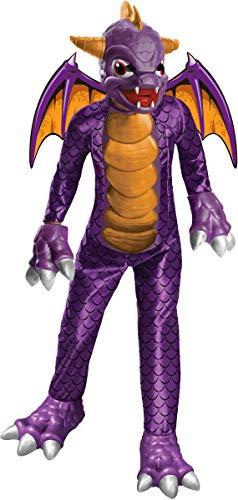 Deluxe Skylanders Child Costume Deluxe Spyro - Large