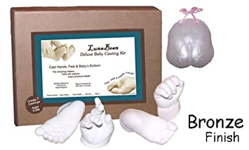 Luna Bean Deluxe 3D Prints Baby Casting Kit (Bronze) Casting Keepsakes