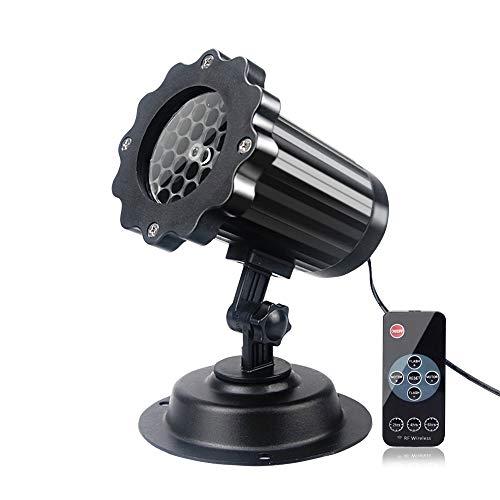 Christmas LED Projector Lights Snowflake Lamp Yasorn IP65