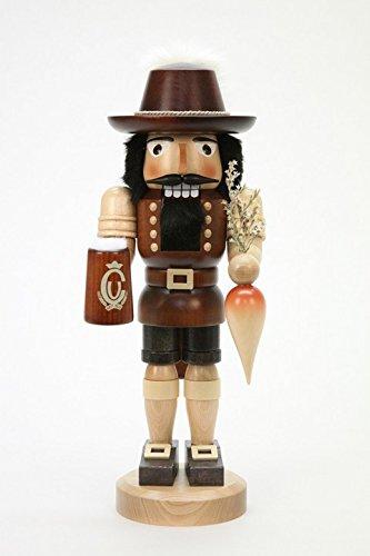 (Ulbricht Nutcracker Bavarian Natural 14,80 inches)