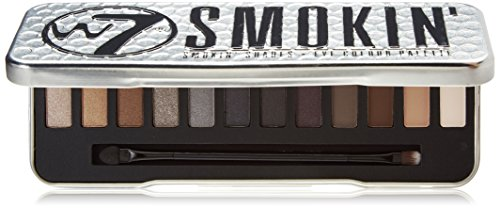 W7 Natural Nudes Naked Eye Color Palettes Smokin 12-in-1 Gor