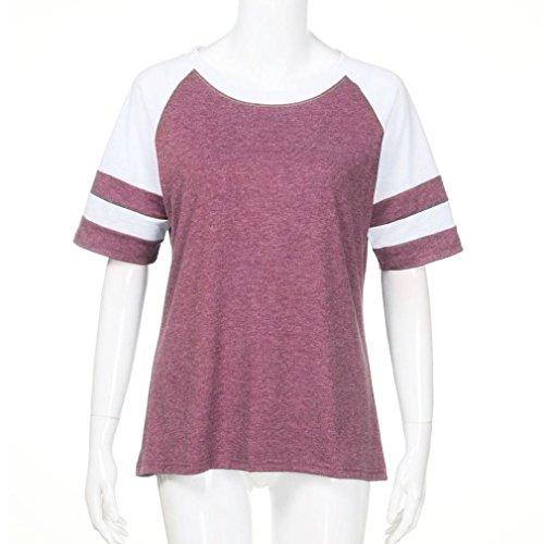 Damen SANFASHION Donna Shirt155 Bekleidung SANFASHION Ballerine Rosa fZFpxn