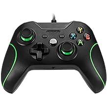 icoco USB Alámbrico Xbox One Game Controller Gamepad Joystick Joypad diseño ergonómico para XBOXONE Choque Vibración