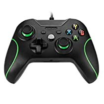 USB Wired Xbox One Game Controller Gamepad Joystick Joypad Design ergonomico Per Xbox one PC Vibrazioni shock