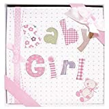 Occasions Gift Giving Baby Girl Photo Album, Holds 72 (4' x 6') Photos