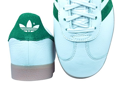 Cgreen Vinwht Gazelle Herren adidas Gymnastikschuhe Originals Gum4 S76228 Bianco Schwarz 6aq8Hn8w