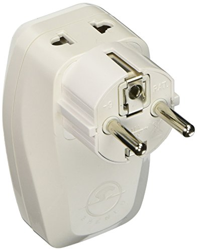 Schuko Travel Adapter Surge Protection product image