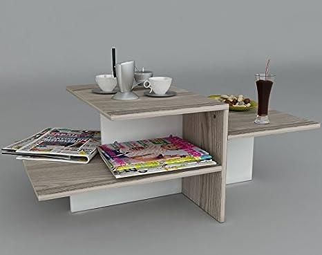 WHISPER Tavolino basso da salotto - materiale in legno - Tavolino da ...