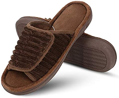 DL Adjustable Open Toe Men Slippers