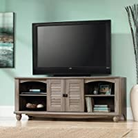 Sauder Harbor View Salt Oak Entertainment Credenza for TVs up to 60