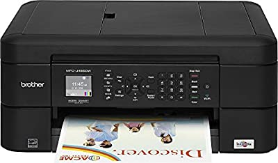 Brother - MFC-J485DW Wireless All-In-One Printer - Black