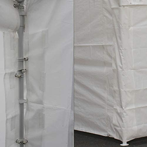 King Canopy 20 ft. Drawstring Cover in White 764807