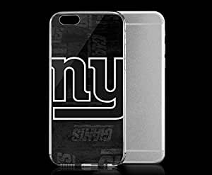 Light weight with strong PC plastic case for Iphone 6 Sports & Collegiate NFL New York Giants New York Giants Black & White
