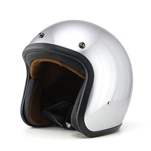 open face helmet chrome - 8