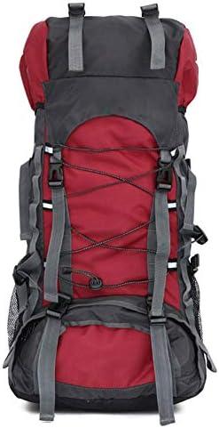 ハイキング用バックパック、60リットルの大きな防水性と通気性を備えた戦術的な超軽量