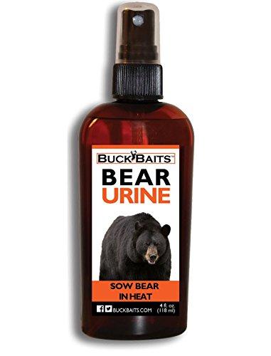 Buck Baits Bear Urine Sow In Heat 4 oz.