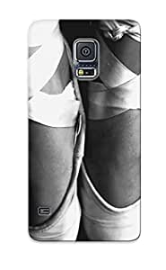 Nice Galaxy S5 Case Bumper Tpu Skin Cove Rwith Ballet Shoes Design For Thanksgiving Day Gift