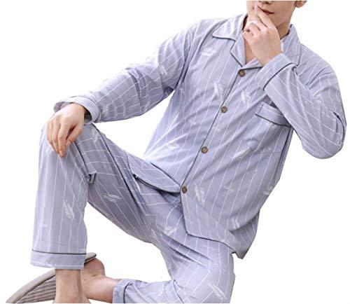 Set Taglie In Autunno Comode E Uomo Top Pantaloni Pezzi Gents 1 Cotone Primavera Pigiama Due New Homewear Abiti Styles Da Full wxIYqxfE