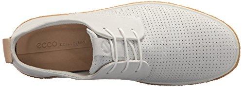 White Scarpe Stringate Crepetray Donna Shadow ECCO Powder Bianco Derby 0qfWa