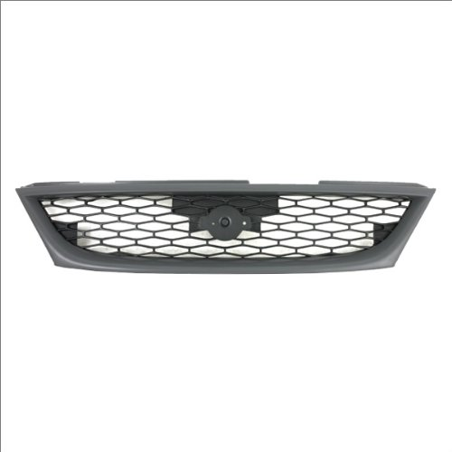 CarPartsDepot, Front Honeycomb Style Grille Grill USA Built Replacement w/o Fog Hole, 400-36642 -