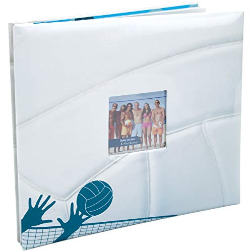Mbi Sport & Hobby 12 Inch by 12 Inch Postbound Albums, Volleyball (865408)