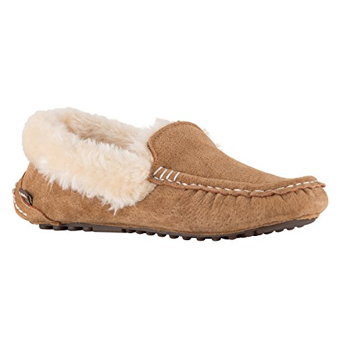 Pictures of Lamo Women's Ausie Moc Slip-On Loafer Chestnut 3