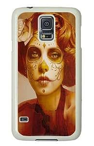 Art 12 Custom Samsung Galaxy S5/Samsung S5 Case Cover Polycarbonate White