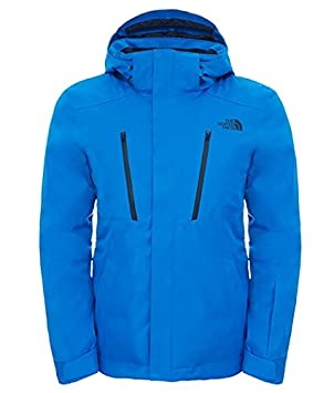 10b4781257 The North Face Ravina Veste de Ski Homme, Bleu/Bomber Blue, FR : S ...