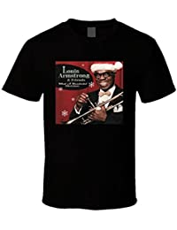 Louis Armstrong And Friends What A Wonderful Christmas Album Cover T Shirt