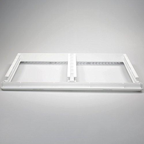 GENUINE Frigidaire 240364786 Refrigerator Crisper Shelf Frame Genuine Original Equipment Manufacturer (OEM) - Crisper Drawer Glass Shelf