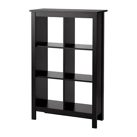 the best attitude 40040 c87e3 Ikea Bookcase Shelf Unit (Black-Brown)