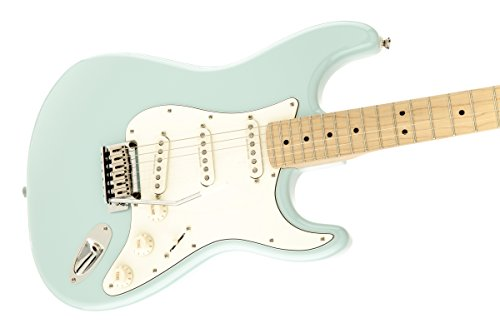 squier by fender 300500523 deluxe stratocaster electric guitar daphne blue maple fingerboard. Black Bedroom Furniture Sets. Home Design Ideas