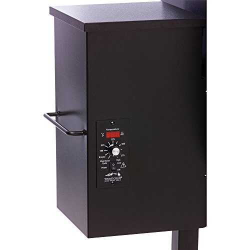 Traeger TFB65LZBC Grills Texas Elite 34 Wood Pellet Grill and Smoker - Grill, Smoke, Bake, Roast, Braise, and BBQ (Bronze)