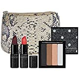 Charlotte Ronson Masquerade Collection Set (Eyeshadow, Lipstick, Makeup Bag)