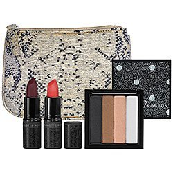 Charlotte Ronson Masquerade Collection Set (Eyeshadow, Lipstick, Makeup Bag) by Voronajj