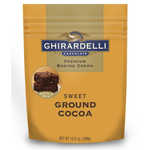 - Ghirardelli Sweet Ground Chocolate and Cocoa Pouch, 10.5 Ounce
