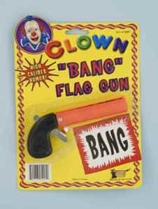 [Bang Flag Gun] (Ladies Golf Fancy Dress Costumes)