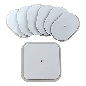 SUNMAS Replacement Electrode Pads for Massage Belt and Arm Band SM9065