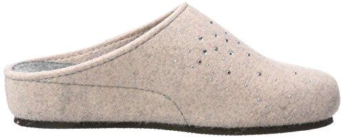 TOFEE Damen 74-43 Nieten Pantoffeln Pink (Rosa)