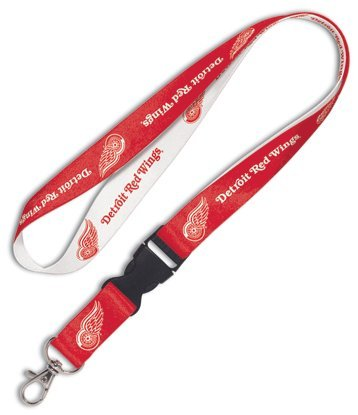 NHL Detroit Red Wings Lanyard with Detachable Buckle, 3/4