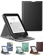 Capa Kindle Paperwhite a prova D'água WB ® Premium Vertical Auto Hibernação (PRETO)