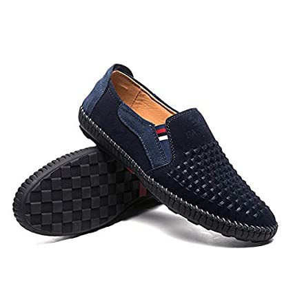 LOVDRAM Zapatos De Caballero, Caballos, Sin Pegamento, Cuero Hecho A Mano, Calzado
