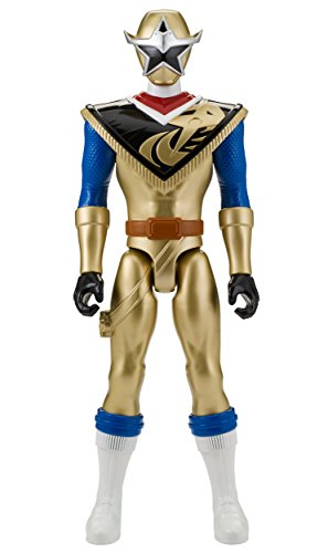 Power Rangers Super Ninja Steel 12-Inch Action Figure, Gold -